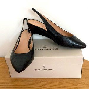 New Women's Bandolino Caiman Wedge Sandals 8.5M